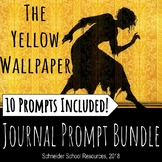 The Yellow Wallpaper Journal Prompt Bundle