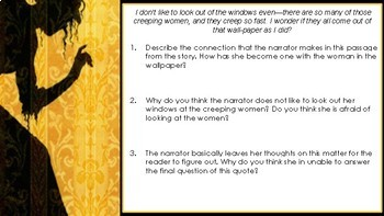 The Yellow Wallpaper: Quote Analysis Assignment