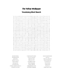 The Yellow Wallpaper Vocabulary Word Search - Gilman