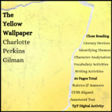 The Yellow Wallpaper Short Story Close Reading