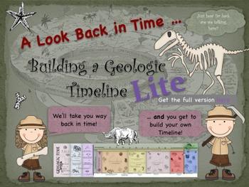 Building a Geologic Timeline LITE