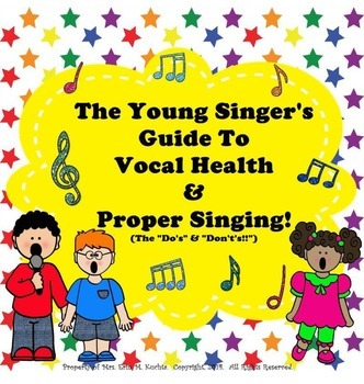 The Young Singer's Guide To Vocal Health & Proper Singing - PDF Edition
