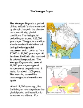 The Younger Dryas