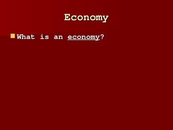 The Yurok Economy