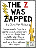 The Z was Zapped by Chris Van Allsburg - Writing Activities