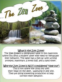 Behavior Management - Zen Zone