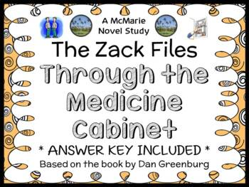 The Zack Files: Through the Medicine Cabinet (Greenburg) Novel Study (23 pages)