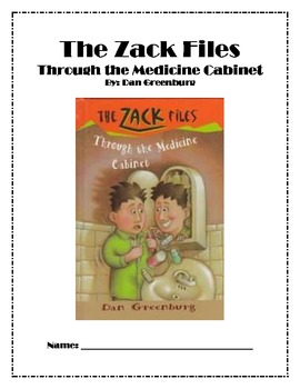 Reading Guide: The Zack Files: Through the Medicine Cabinet