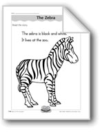 The Zebra (letter/sound association for 'z')