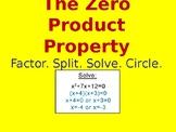 The Zero Product Property