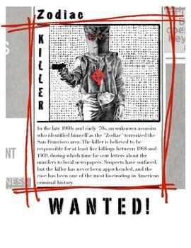 The Zodiac Killer w/key