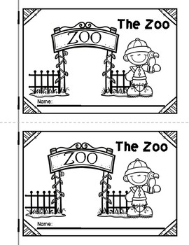 The Zoo Emergent Reader