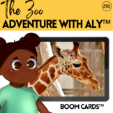 The Zoo Virtual Field Trip BOOM Cards™ Adventure with Aly™ Season 4