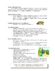 The Zoo curriculum theme unit