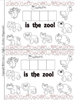 The Zoo~Interactive Sight Word Reader