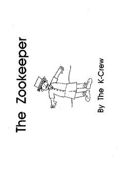 The Zookeeper (blackline emergent reader)