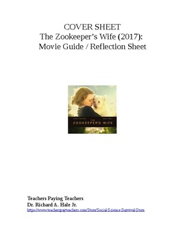 The Zookeeper's Wife Movie Guide.
