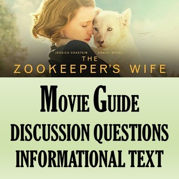 The Zookeeper's Wife Movie Guide and Informational Text