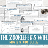 The Zookeeper's Wife Movie Study Guide