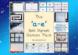 The a-e (split digraph) phonics games pack