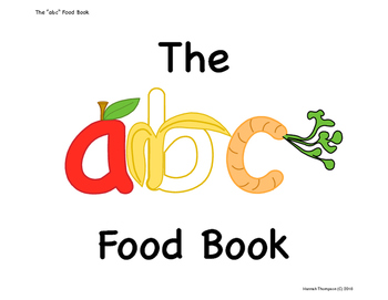 "The ""abc"" Food Book - Posters"