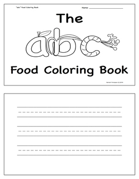 "The ""abc"" Food Writing Book"