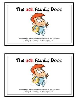 The ack Family Book Guided Reader