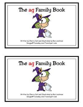 The ag Family Book (-ag family reader)