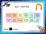The 'air' Phonics PowerPoint