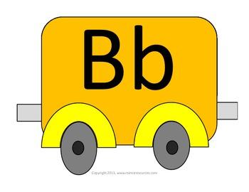 The alphabet trains