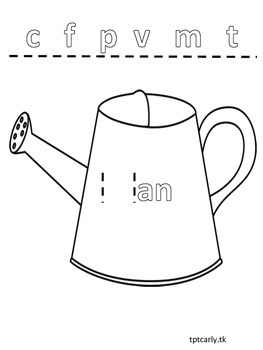 The -an Can {A Phonics Pal}