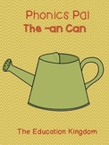 The -an Can {A Phonics Pal}