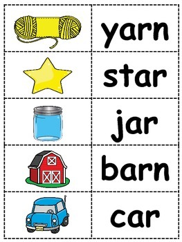 The /ar/ Sound - R Controlled Vowel Lesson Plans and Activities for a Week