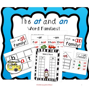 The at and an Word Families