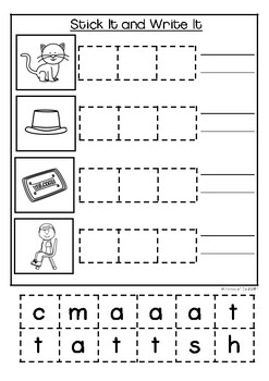 The at family -CVC Activity Pack