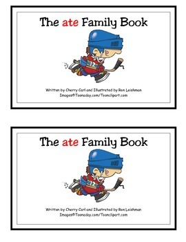 The ate Family Book Guided Reader