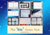 The 'au' Phonics Games Pack