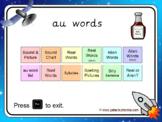 The 'au' Phonics PowerPoint