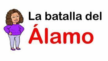 La Batalla del Álamo (Bilingual)