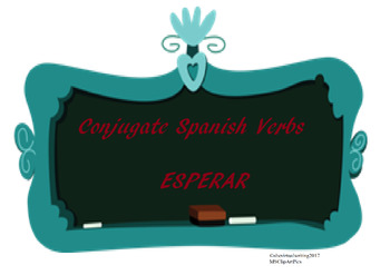 The best Spanish -AR verb conjugation worksheet ESPERAR