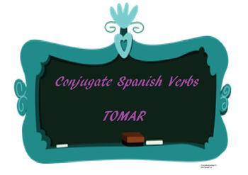The best Spanish -AR verb conjugation worksheet TOMAR