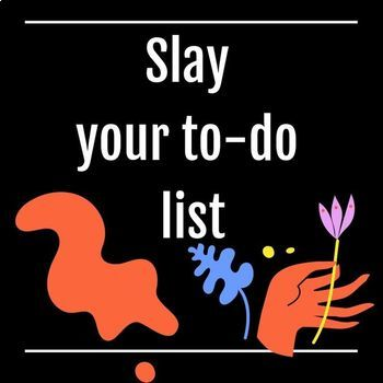 The best to-do list