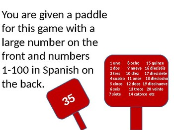 The best way to practice numbers in Spanish -La Subasta