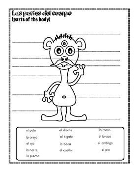 The body (partes del cuerpo)