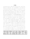 The body -word search - French