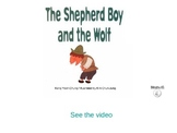 The boy who cried wolf storybook