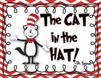 The cat in the hat poster freebie