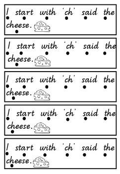 The 'ch' diagraph mini book
