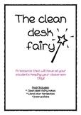 The clean desk fairy