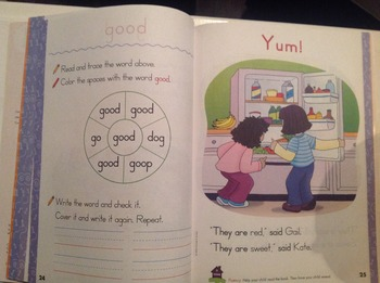 The clear and simple workbooks I can read grade 1 sight words